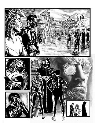 Bloke's Terrible Tomb Of Terror #10 'Beneath The Surface' Pg6 Art By Rob Moran
