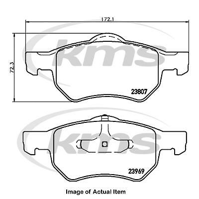 ADA104204 Car Parts Genuine OE Quality Blue Print Front Disc Brake Pads Set