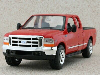 FORD F-350 Pick up - red - WELLY 1:24