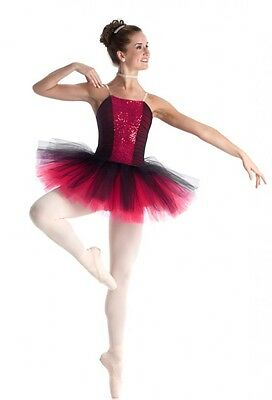 057d44234 Classique Red Dance Costume Sequin Ballet Tutu Christmas Clearance Child  X-Small