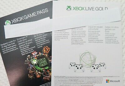 Xbox 14 Day Game Pass - Xbox 24 Day Live Gold - Will Email Code