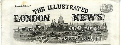 1866 ILLUSTRATED LONDON NEWS Venice Gondolas HARTLEPOOL TOWNHALL Aysgarth (5931)