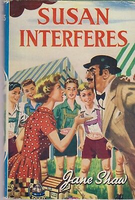 Susan Interferes - Jane Shaw, The Children's Press Hardback, Early 1960s