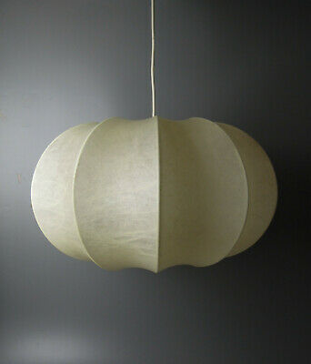 VINTAGE COCOON CASTIGLIONI STYLE CEILLING LAMP MID CENTURY MODERN 50s 60s 70s