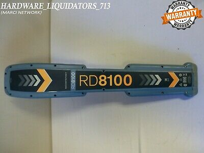 SPX Radiodetection RD8100 PDLG Cable / Pipe Locator **(FAST SHIPPING)**