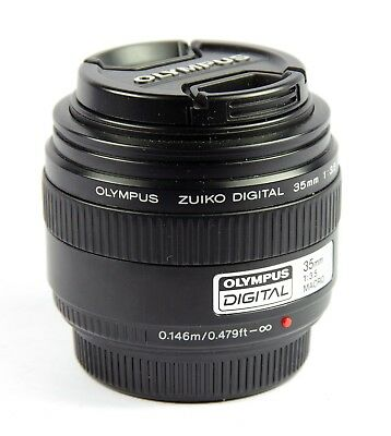 Olympus Zuiko Digital 35mm F/3.5 Objektiv für Four-Thirds