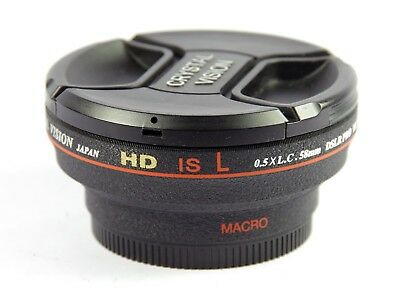 Crystal Vision High Definition Limited Edition 0.5X Wide w/ Macro 58mm COV