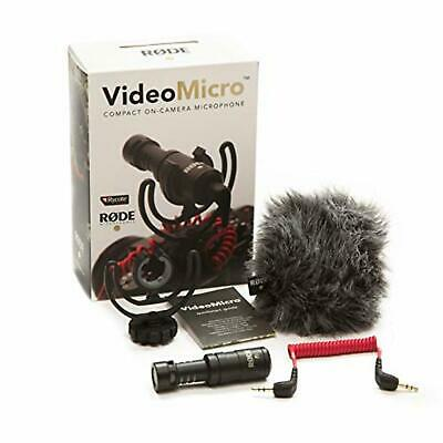 RODE Video Micro Ultra-Small Condenser Microphone F/S w/Tracking# New from Japan