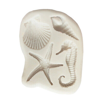 Marine Life Silicone Fondant Mold Cake Decorating Tool DIY Chocolate Molds