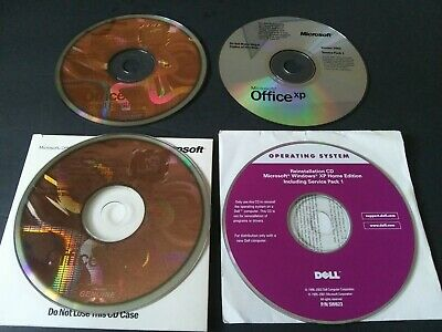 Microsoft Office XP Home XP Small Business LOT of 4 Vintage