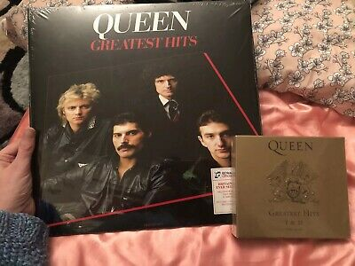 Queen Greatest Hits Vinyl 2LP & CD - Brand New And Sealed