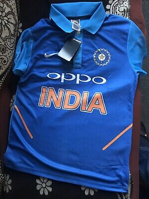 Men's JERSEY T-Shirt WORLD CUP 2019 INDIAN CRICKET TEAM Name On Back All Sizes