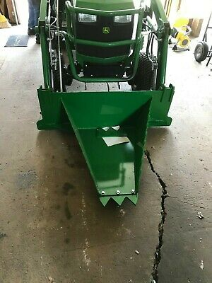 CRI John Deere Stump Bucket/Tree Spade - Sub Compact