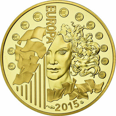 [#654655] France, 50 Euro, 2015, MS(65-70), Gold