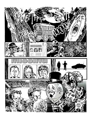 Bloke's Terrible Tomb Of Terror #12 'Joke's On You' Pg 10 Art By Rob Moran