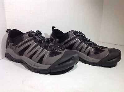 d30555e9767e Keen Mens Size 11 McKenzie II Gray Black Casual Athletic Water Shoes YB-357