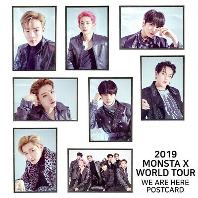 MONSTA X - 2019 MONSTA X WORLD TOUR WE ARE HERE Official Postcard
