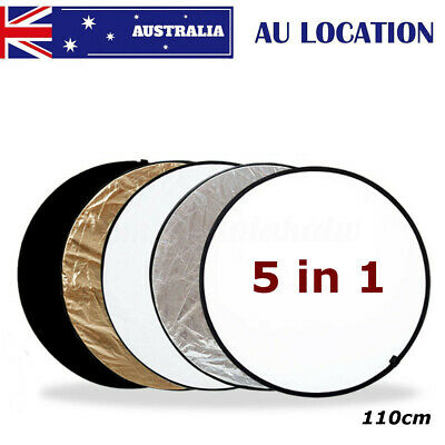 110cm 5 in 1 Photography Light Multi Collapsible Reflector Photo Studio Board