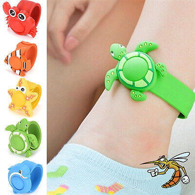 Repellent Wrist Band Anti Mosquito Wristband Repeller Pest Insect Bug BraceleTB