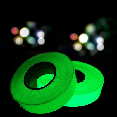 Luminous Tape Self-adhesive Glow In The Dark Safety Stage Sticker Home Decor TB