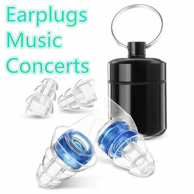 Noise Cancelling HIFI EarPlugs Hearing Protection for Sleep Concerts Music Party