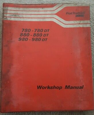 Fiat 780 880 980 Dt Tractor Service Manual