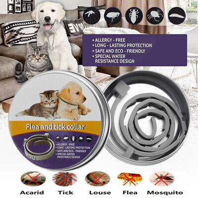 Natural Flea Collar For Dogs - Flea and Tick Protection For Up to 6 Months S/L