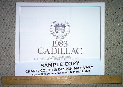 1983 cadillac seville body wiring diagrams factory oem gm