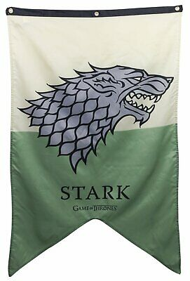 Game of Thrones Stark Banner Flag 30 x 50 inches