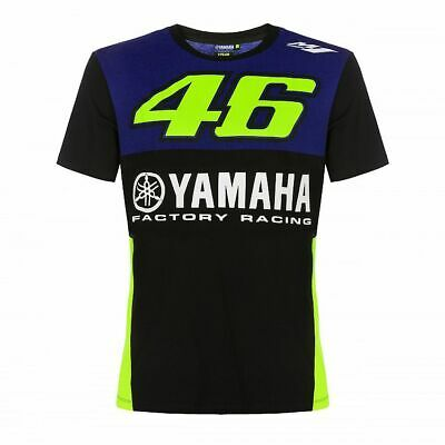 Valentino Rossi VR46 Moto GP M1 Yamaha Factory Racing Team T-shirt Official 2019