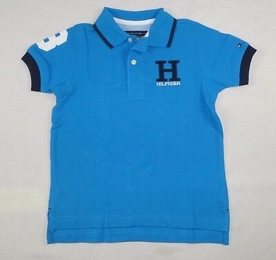 Tommy Hilfiger Little Boys' Short Sleeve Polo Shirt size 4