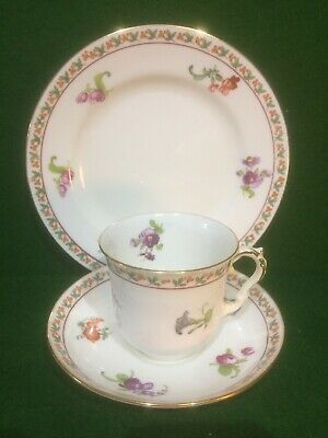 Vintage Bisto China Tea Cup, Saucer & Plate Trio