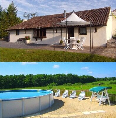 Holiday Gite/ Cottage/ House with a 8m swimming pool in SW, France