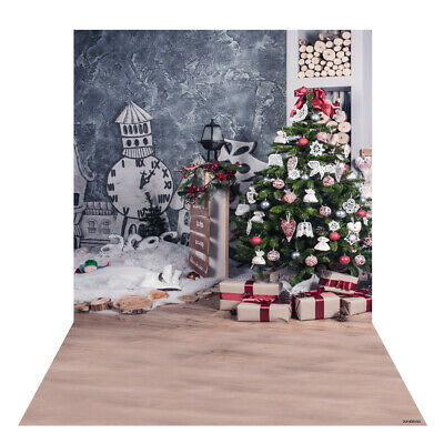 Andoer 1.5 * 2m Photography Background Backdrop Digital Printing Christmas D6H7