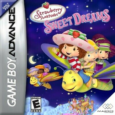 GameBoy Advance game - Strawberry Shortcake: Sweet Dreams boxed  MINT CONDITION