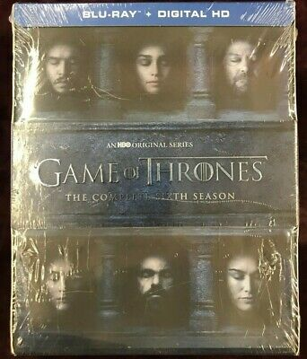 GAME OF THRONES: THE COMPLETE SIXTH SEASON (Blu-ray Discs, Digital HD Copy)