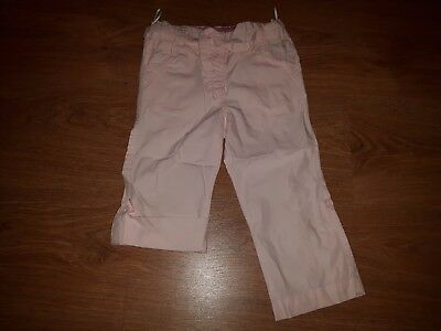Girls Pink Long or 3/4 Trousers, size 2 years