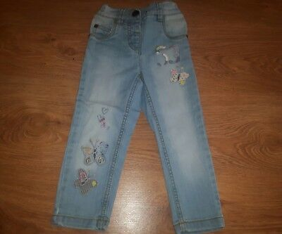 Girls Next Denim Trousers, size 1.5-2 years