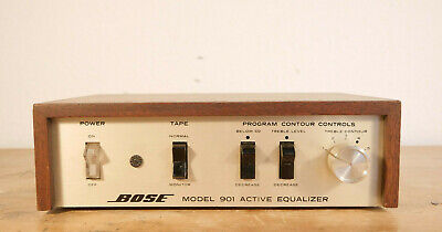 Bose 901 Active Equalizer EQ - vintage