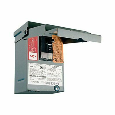 SquareD 60-Amp AC Non-Fusible Enclosed Air-Conditioner Outdoor Disconnect-Switch