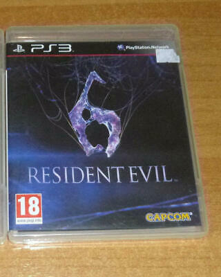 2 jeux playstation 3 PS3 - Resident evil 6 + Resident evil 5 gold edition