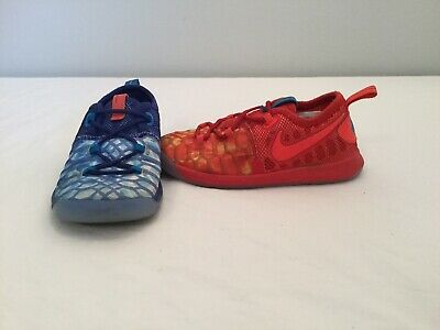 a7db6333b8cc NIKE KEVIN DURANT KD 9 Fire   Ice Toddler Boys Red Blue Shoes~size 9 ...