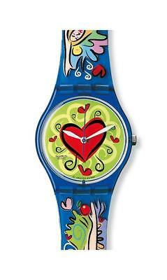 CINTURINO SWATCH Strap x SPECIAL LOVE BITE GN176PACK-1998 PLASTIC BAND new