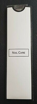 Mini Nail Care Kit,2 Double Sided Emery Board Cuticle Stick Case 10 20 30 50 100