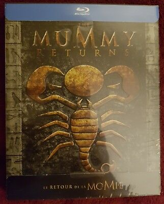 le retour de la momie : mummy the return Blu-ray Steelbook VFR neuf