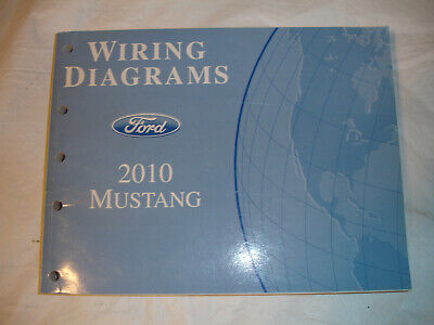 2010 ford mustang gt wiring diagrams electrical schematics service manual  oem