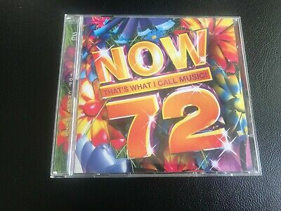 Now 72 – 2 CDs – 43 Top Chart Hits from 2009 - Excellent Condition - FREE P&P