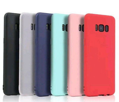 For Samsung Galaxy S6 S7 Edge S9 J5 J7 A10 TPU Silicone Gel Rubber Phone Case