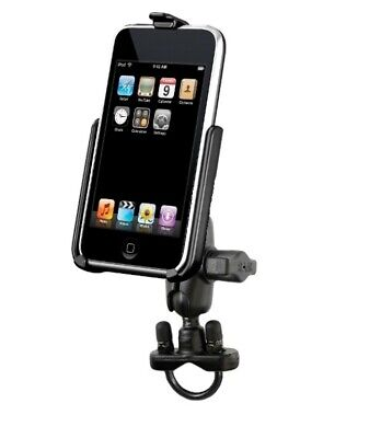 Short Arm Handlebar Rail Mount Holder for Apple iPod Touch 2nd & 3rd Generation
