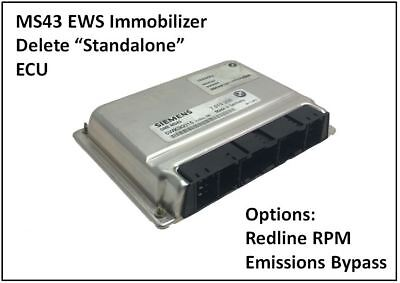 M54B30 MS43 upto 253bhp EWS Deleted Remapped ECU for BMW E46 330i 2000-2006